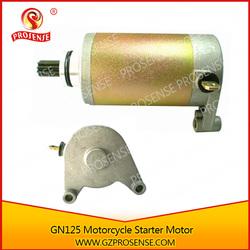 GN 125 Motorcycle 12V Good Quality Starter Motor