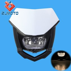 Universal White H4 12V35/35W Street Fighter Front Lamp Dirt Bike Streetfighter Head Light Off Road Motorcycle Headlights