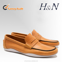 New flat men high quality loafers