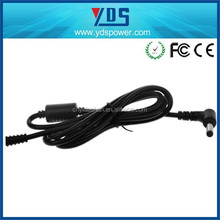 Hot sale 5.5X2.5mm dc power assembly, power cord cable for laptop