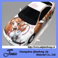 toyota car body sticker