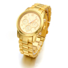 Hot sell diamond geneva gold watches relogio ouro luxury famous brand whatch women gold fashion casual watch montre drop ship