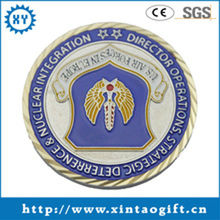 Customized metal military nautical coins souvenir for collect