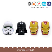 Super cute white Plastics Iron man party use mug printing machine price in india