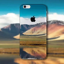 For iPhone 6 Cases Desert Landscape Custom Colorful Painted Printing Soft TPU Cover Case for iPhone 6