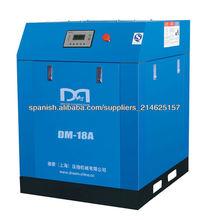 Doble tornillo compresor de aire 18kw, 25hp
