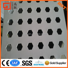 long term supplier!!!round hole perforated sheet sieve mesh