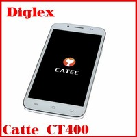 5INCH Original Catee CT400 Cellular Mtk6582 Quad Core Android 4.2 512MB+4GB Dual SIM OTG Low Cost China Mobile Phone
