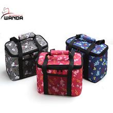 Fashion printing Oxford handbag outdoor multipurpose picnic tote bag for girls