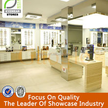 new design wooden bakery optical shop interior design
