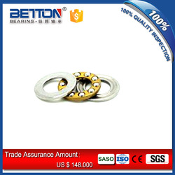axial mini brass cage thrust ball bearing F4-10 bearing