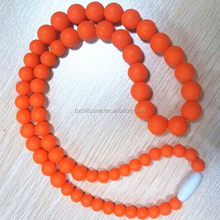 Economic antique silicone chewing for necklace