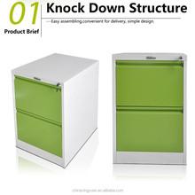 office furniture 2 drawer light green metal filing cabinet