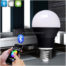 Wireless Led Light Bulb RGB E26 550 Lumens Wifi Control Your Lights From Anywhere Smart LED Light Bulbs for Home