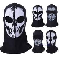 Top Sale Skull Bike Motorcycle Helmet Neck Face Mask Paintball Ski Sport Headband halloween mask SV009330