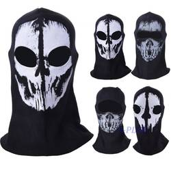 Top Sale Skull Bike Motorcycle Helmet Neck Face Mask Paintball Ski Sport Headband halloween mask SV009330