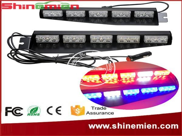 visor police emergency vehicle car truck visor strobe lights emergency. Black Bedroom Furniture Sets. Home Design Ideas