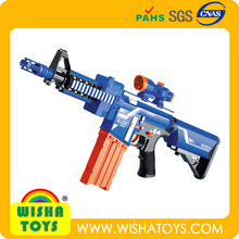2014 Newest ! Electric soft bullet toy guns with light and music Similar to nerf gun