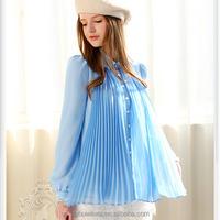 dabuwawa blouse for women big girls blouse bow ruffled blouses Ladies shirts