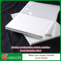 QingYi best price large format heat transfer paper for digital sublimation printing