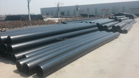 iso4427 2.5 inch high densiti polyethylen pipe hdpe pipe, pe tubes for gas dongli