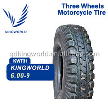 6.00-9 tricycle tire for three wheeler motorcycle