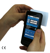 Cilico water proof Android IP65 design smart phone integrate 1D 2D barcode scanner, NFC UHF RFID reader writer