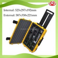 Seal Waterproof IP67 Instruments M2950 PP Hard Equipment plastic Case