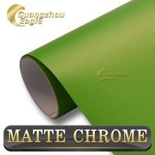 Wholesale Chrome Metallic Light Green Car Film Strips 1.52*20m
