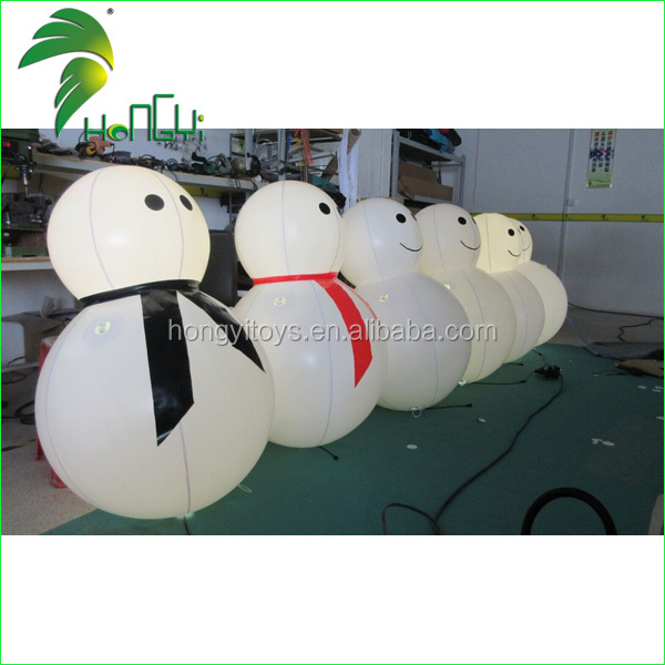 inflatable led snowman (3)