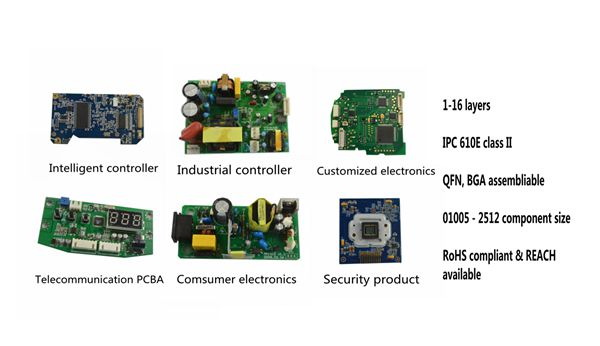 Shenzhen low cost LEAD free SMT EMS OEM PCB assembly Manufacturing