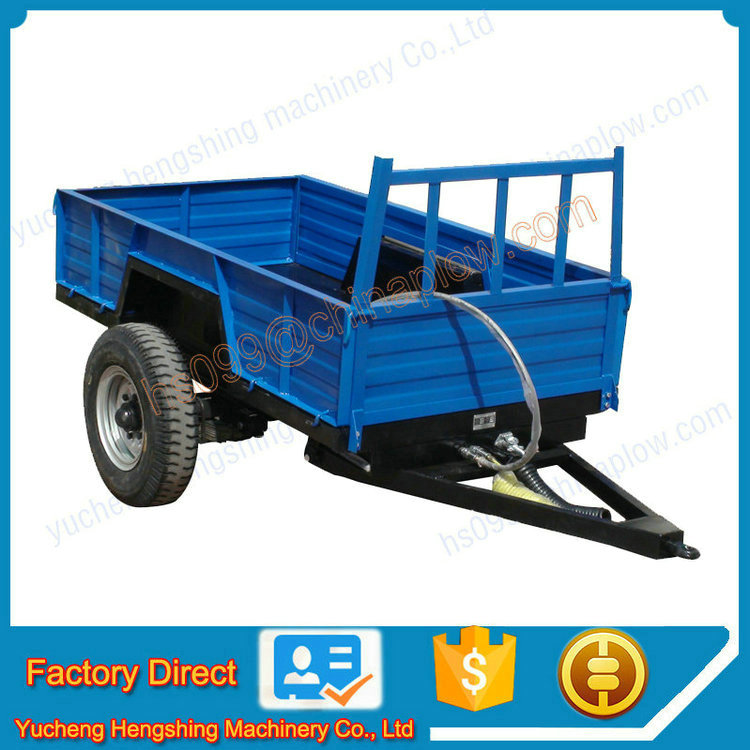Tractor Trailer Truck Accessories : Agricultural equipment small tractor trailer for shifeng