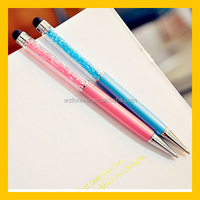 2 In 1 Capacitive Stylus Pen With Swarovski Crystal