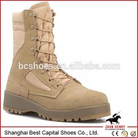 low cut leather\more functions military shoes for men\steel toe lace up work boot