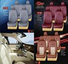 leather car seat cover for SUV cars with logo