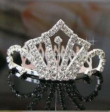 wedding diamond crystal bridal crowns, crystal crown Wholesale