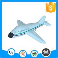 Environmental customized cheap inflatable giant airplane for advertising