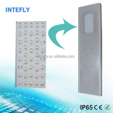 Integrated Solar LED Street Light 50W mini solar panel for led light