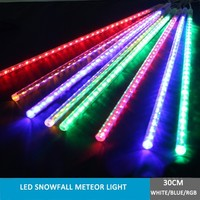multi rgb color led chrismas xmas tree decorations snowfall drop lights hoiday party birthday wedding garden light