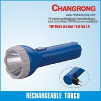 rechargeable plastic led emergency flash lights
