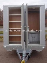 Motorcycle camping trailers, Portable Toilet, Movable trailer Toilet