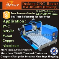 6090 hot sale small Stepper motor drive CNC wood router table