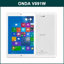 ONDA V891W 64bit Quad Core 8.9 Inch IPS FHD Screen 2GB RAM 64GB ROM Android 4.4 Dual OS Mini Laptop Computer with Intel Z3735F