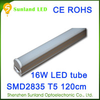 2014 shenzhen factory price 16W T5 1.2m CE ROHS passed indian red tube