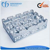 Airline use glass rack,plastic glass rack,drinking glass rack