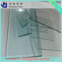 8mm silk screen printing glass Haojing Low Iron Clear, Ultra Clear, Tinted Float Glass