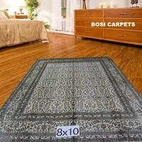 8x10ft Cyan Luxury Decor Silk Carpet Tree Of Life Iran Export Wholesale Handmake Carpet