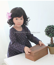 Wholesale Cheap Kids natural Synthetic Hair Wigs little girls natural curly hair wig