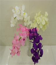 artificial purple butterfly orchid flower for decoration