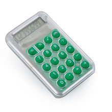Lovely Colorful Mini Pocket Button Cell Calculator